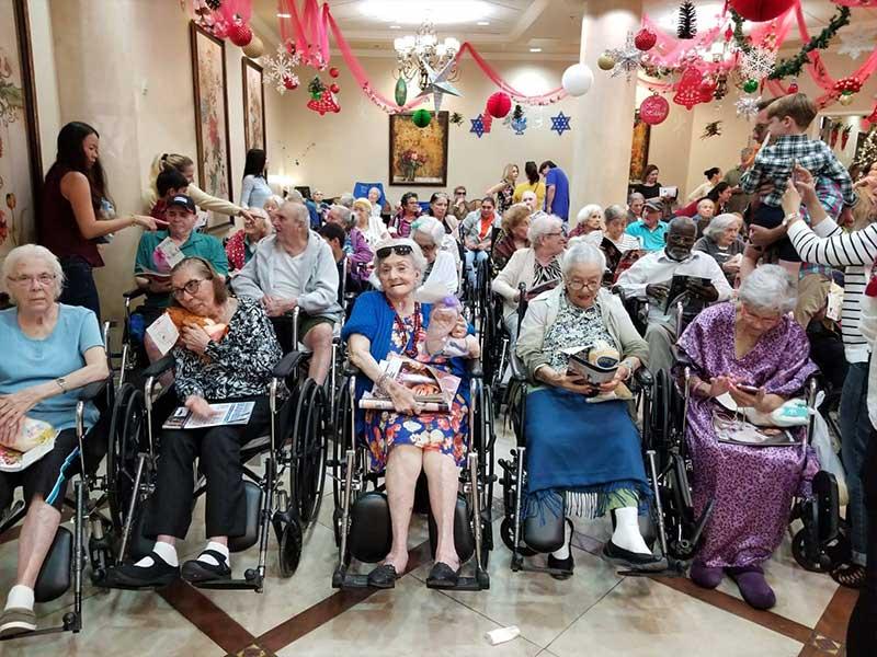 Visit to Riviera Health Resort – Nursing Home 2018